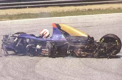 Roland Ratzenberger Unfall